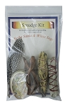 Smudge Kit - Yerba Santa / White Sage, Each