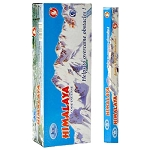 Himalaya Incense Sticks, Hex Pack - 6 Boxes of 20 Sticks (120 Sticks)
