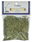 Cedar, Cut & Sifted, Packaged, 1 oz.