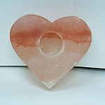 Himalayan Salt Candle Holder - Heart