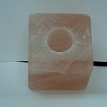 Himalayan Salt Candle Holder - Square