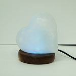 Himalayan Salt Lamp, USB - Heart