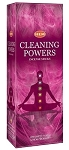 Cleaning Powers Incense Sticks, Hex Pack - 6 Boxes of 20 Sticks (120 Sticks)