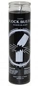 Block Buster 7 Day Candle, Black