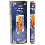 San Judas Incense Sticks, Hex Pack - 6 Boxes of 20 Sticks (120 Sticks)
