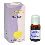 Patchouli Auroshikha Natural Essential Oil - 10 ml - 1/3 fl. oz. (Each)