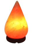 Himalayan Salt Lamp, Crafted - Tear Drop
