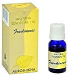Frankincense Auroshikha Natural Essential Oil - 10 ml - 1/3 fl. oz. (Each)