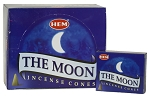 Moon Incense Cones, HEM, Box/12