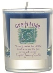 Gratitude Soy Filled Glass Votive Candle