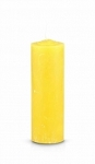 Pullout/Refill Candle, Yellow