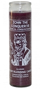 High John Conqueror 7 Day Candle, Purple