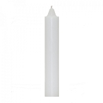White Jumbo Candle, Each