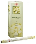 Magnolia Incense Sticks, Sq. Pk - 25 Boxes of 8 Sticks (200 Sticks)