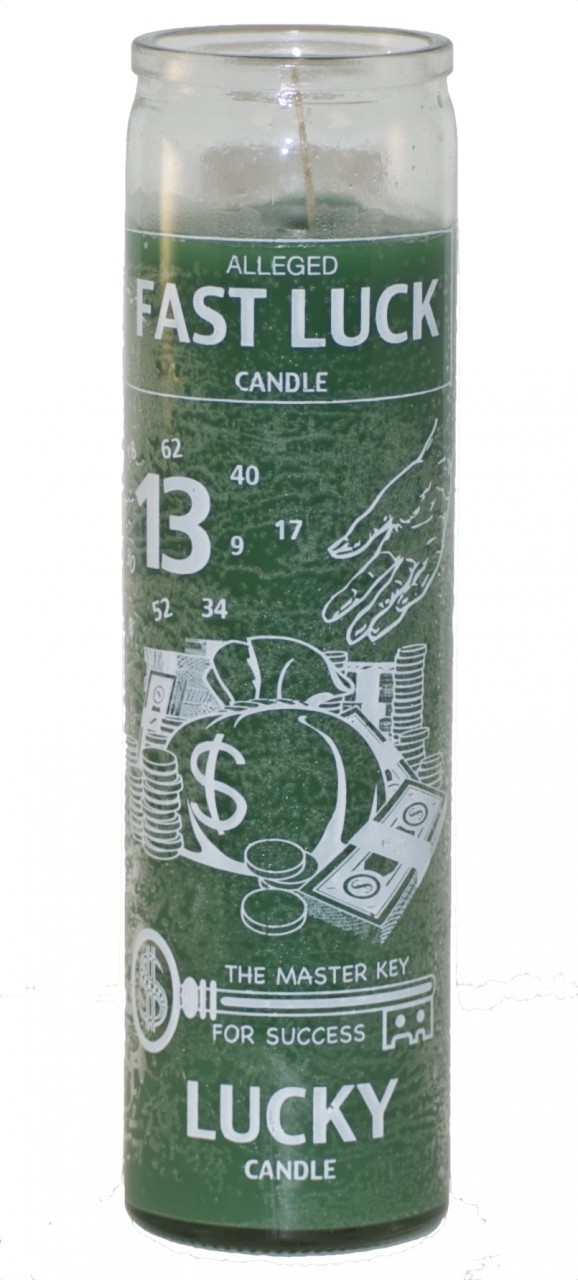 Fast Luck 7 Day Candle, Green