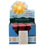 Motivation Herbal Votive Candles, Box/18