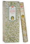 Precious Jasmine Incense Sticks, Hex Pack - 6 Boxes of 20 Sticks (120 Sticks)