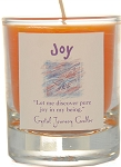 Joy Soy Filled Glass Votive Candle