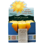Positive Energy Herbal Votive Candles, Box/18