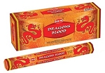 Dragon Blood Incense Sticks, Hex Pack - 6 Boxes of 20 Sticks (120 Sticks)