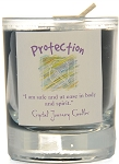 Protection Soy Filled Glass Votive Candle