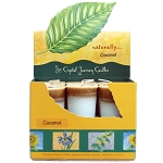 Coconut Scented Votive Candles, Box/18