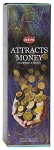 Attracts Money Incense Sticks, Sq. Pk - 25 Boxes of 8 Sticks (200 Sticks)