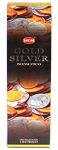 Gold & Silver Incense Sticks, Sq. Pk - 25 Boxes of 8 Sticks (200 Sticks)
