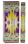 Good Fortune Incense Sticks, Hex Pack - 6 Boxes of 20 Sticks (120 Sticks)