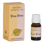 Ylang Ylang Auroshikha Natural Essential Oil - 10 ml - 1/3 fl. oz. (Each)