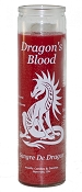 Dragon's Blood 7 Day Candle, Red