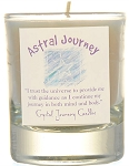 Astral Journey Soy Filled Glass Votive Candle