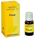Orange Auroshikha Natural Essential Oil - 10 ml - 1/3 fl. oz. (Each)