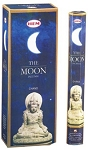 Moon Incense Sticks, Hex Pack - 6 Boxes of 20 Sticks (120 Sticks)