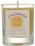 Confidence Soy Filled Glass Votive Candle