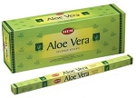 Aloe Vera Incense Sticks, Sq. Pk - 25 Boxes of 8 Sticks (200 Sticks)