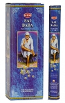 Sai Baba Incense Sticks, Hex Pack - 6 Boxes of 20 Sticks (120 Sticks)