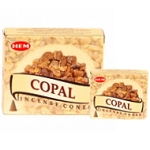 Copal Incense Cones, HEM, Box/12