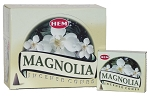 Magnolia Incense Cones, HEM, Box/12