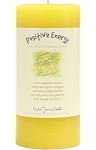 Positive Energy 3 x 6 Herbal Magic Pillar Candle