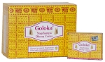 Nag Champa Incense Cones, Goloka, Box/12