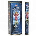 Divino Nino Jesus Incense Sticks, Hex Pack - 6 Boxes of 20 Sticks (120 Sticks)