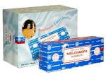 Nag Champa Incense Sticks 250 Grams, Satya Sai Baba, Each (250 Sticks)