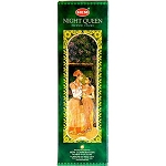 Night Queen 10st Jumbo Incense Sticks, HEM, Box/6