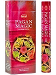 Pagan Magic Incense Sticks, Hex Pack - 6 Boxes of 20 Sticks (120 Sticks)