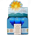 Ascended Masters & Guides Herbal Votive Candles, Box/18