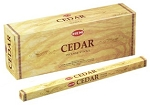 Cedar Incense Sticks, Sq. Pk - 25 Boxes of 8 Sticks (200 Sticks)