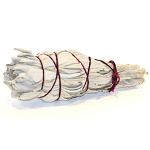 White Sage Smudge Stick - Mini Torch Style 4