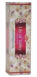 Lily of the Valley Incense Sticks, Sq. Pk - 25 Boxes of 8 Sticks (200 Sticks)