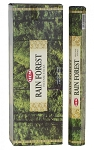 Rain Forest Incense Sticks, Hex Pack - 6 Boxes of 20 Sticks (120 Sticks)